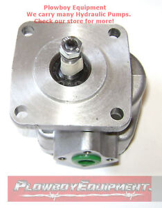 New Hydraulic Pump For Kubota L245 Yanmar Chalmers Hinomoto Massey Ferguson 205