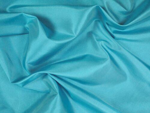 Polyestertaft uni 150cm capri blau