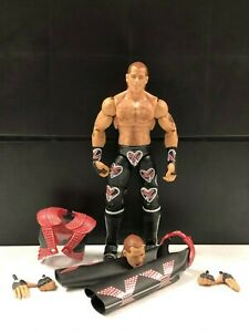 WWE-Mattel-Shawn-Michaels-Ultimate-Edition-Elite-Series-4-figure-loose