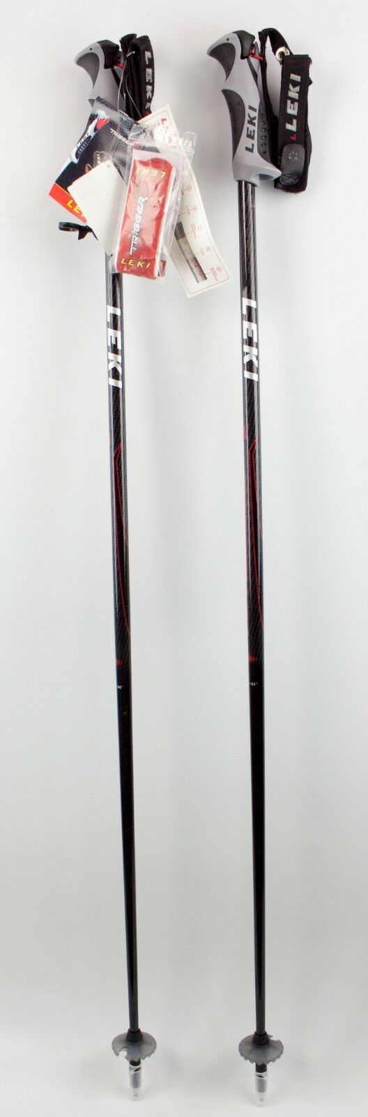 NEW  200 LEKI Carbon Fiber 10S Trigger S Ski  Poles 110CM 44  Downhill Skiing  with cheap price to get top brand