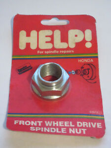 Help-04972-Spindle-Nut-For-79-18-Honda-M22-1-5-32mm-hex-615-091-1030504