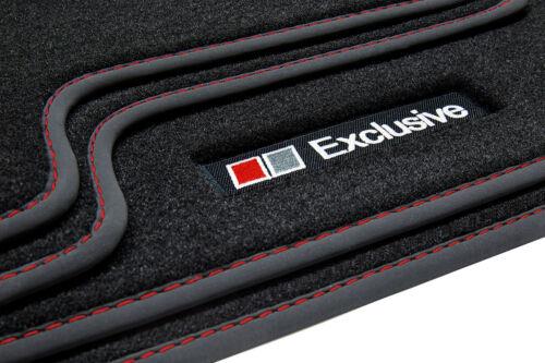 Exclusive Line Fußmatten für VW Touareg 2 7P 4MotionR-Line Bj.03//2010-2018