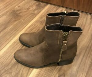 4d65a06b741 Details about BNIB Next Brown Leather Ankle Boots UK 5 RRP £65