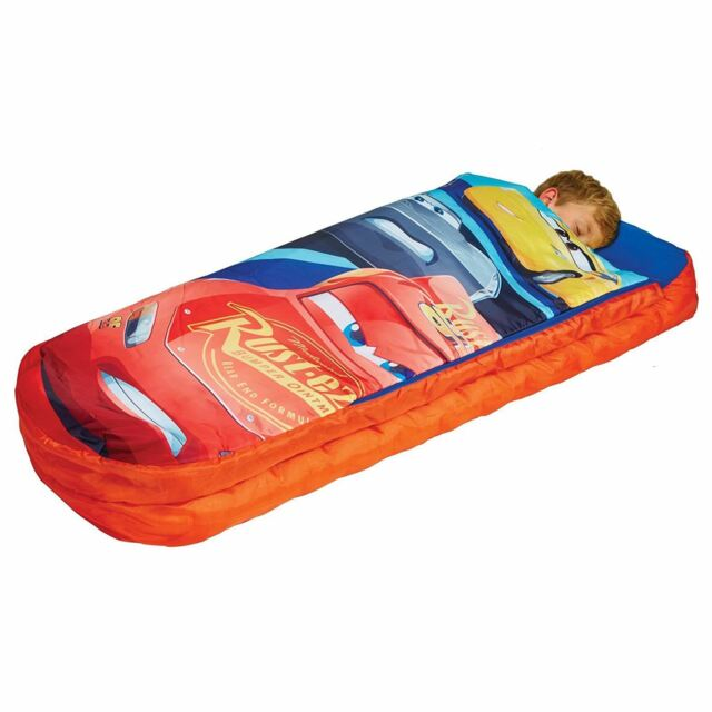 Disney Cars 3 Junior Ready Bed Sleepover Solution Camping Sleeping Bag Airbed