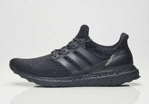 200e099c364 Adidas Ultra Boost 3.0 Triple Matte Black Size 8. CG3038 yeezy nmd ...