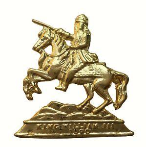 William of Orange Smaller Gilded Symbol For orange Order Collarette