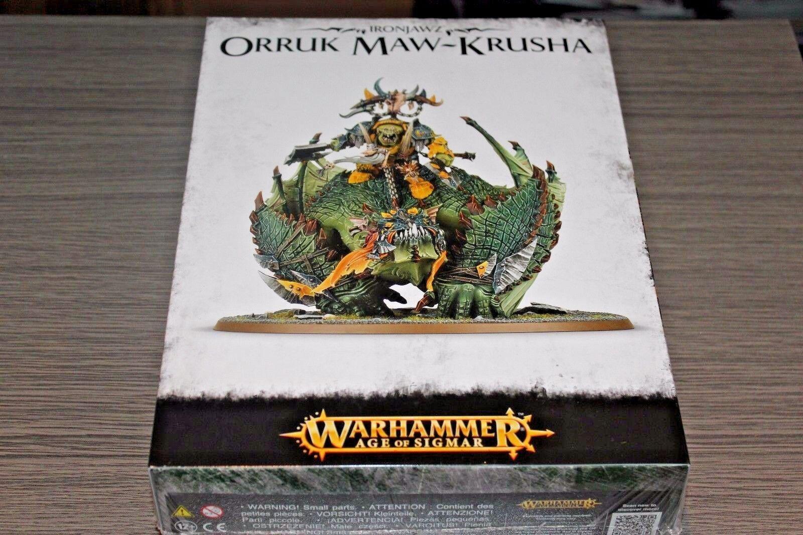 Warhammer orks und goblins orruk ma krusha gordrakk neue