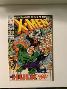X-Men-66-7-0-FN-VF-Condition-Hulk-Lashes-Out