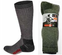 New, Wolverine Premium Wool Hunting Socks, Shoe Size 9-13, 6 Pair Only $30.99