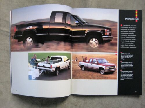1992 Chevrolet Pickup Truck Brochure S-10 Silverado 454 SS