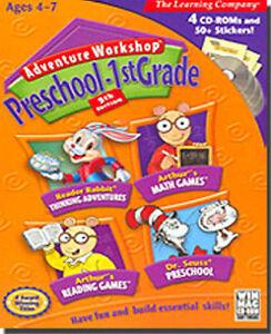 Arthur-039-s-Math-amp-Reading-Dr-Seuss-Reader-Rabbit-NEW-in-BOX-Adventure-Workshop
