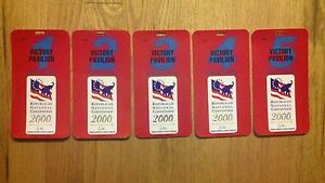 2000-Republican-National-Convention-Credentials-President-George-W-Bush-Ticket