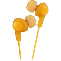 Jvc Gumy Plus Orange Noise Isolation Stereo Earbuds Factory Sealed Package