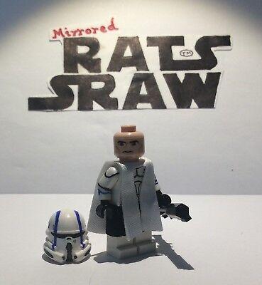 Comdr Wolffe Head Lego Star Wars minifigures Clone Custom Troopers
