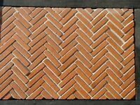 100 Tudor 2 Inch Dolls House Decorative Brickslips