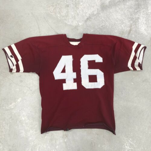 Vintage 40s 50s Football Jersey Athletic 1940s Col