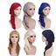 Muslim-Women-Hijab-Cap-Lady-Turban-Chemo-Beanie-Headscarf-Cap-Hijab-Hat-Headwrap thumbnail 1