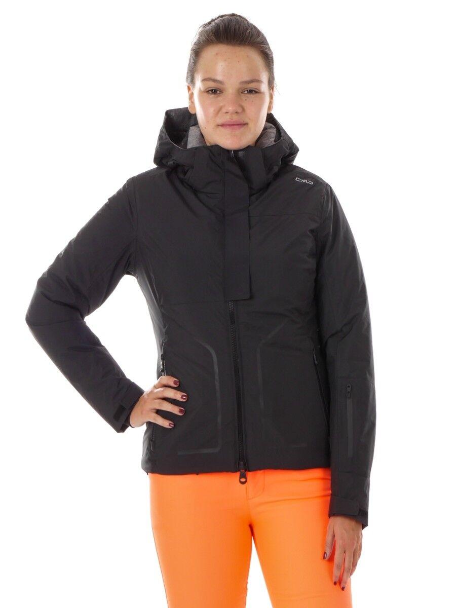 CMP Skijacke Funktionsjacke Snowboardjacke schwarz isolierend WP10000