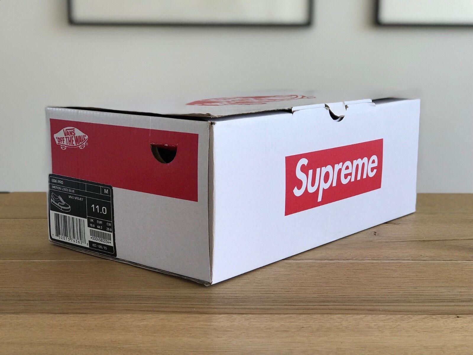 Vans x Supreme era era era US 11 NEW | Prima qualità  | Scolaro/Ragazze Scarpa  e6ec60