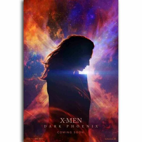 H856 X-Men Dark Phoenix Superhero Movie Series 24x36 Art Silk Poster