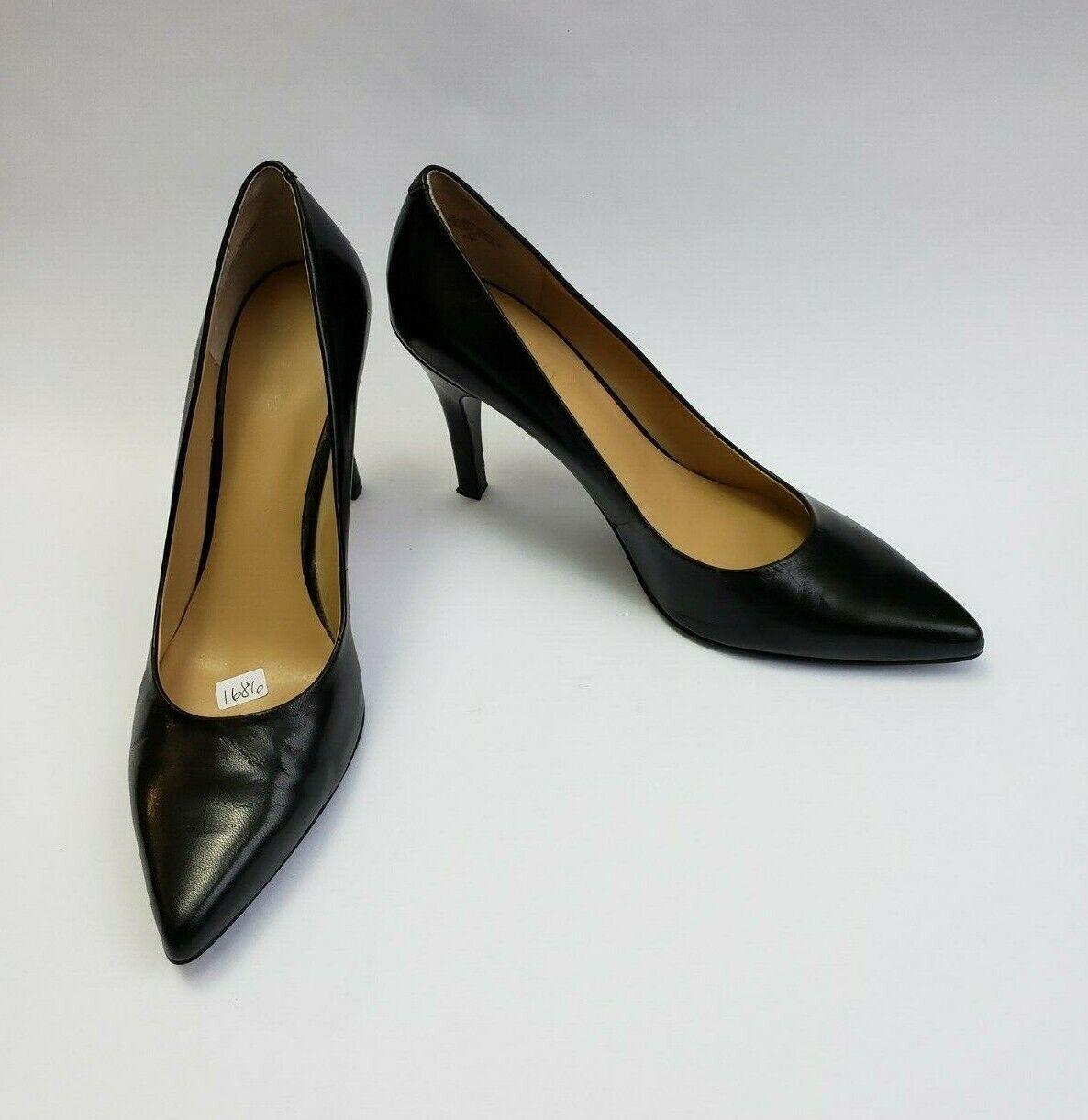 Nine West shoes Heels Pumps Black Wendle Womens Size 10 M