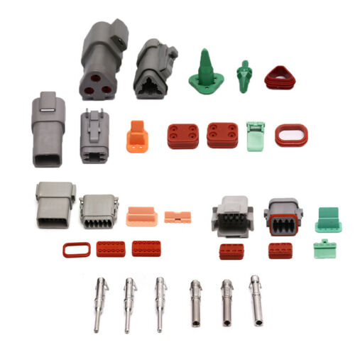 1 set DT06-12S//DT04-12P Conector Waterproof Electrical Connector For Car Moto~GQ
