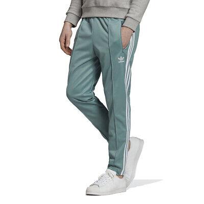 Adidas Originales Para Hombres Pantalones pista Franz Beckenbauer Vapor Acero DV1519 Nuevo | eBay