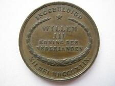 Netherlands, Willem III inauguration medal 12th May 1849, 23.5mm.