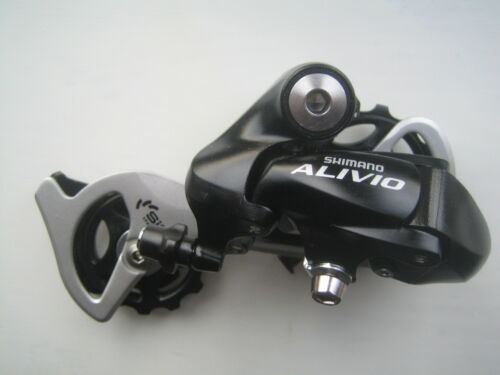 Shimano Alivio Black rear mech derailleur 7 /& 8 speed bolt on RDM410