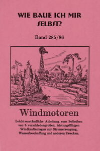 Selbstbau Windturbinen Windrad Windkraftanlag<wbr/>e Stahlwindturbi<wbr/>ne bis 3 m Rotor