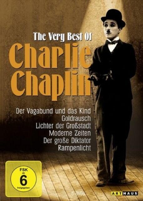 6 DVD Box * Charlie Chaplin - The Very Best of * NEU OVP