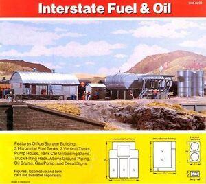 Gauge H0 Kit Interstate Fuel & Oil 3006 NEU