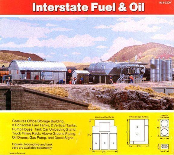 Scala H0 Kit di Costruzione Interstate Fuel & Olio 3006 Neu