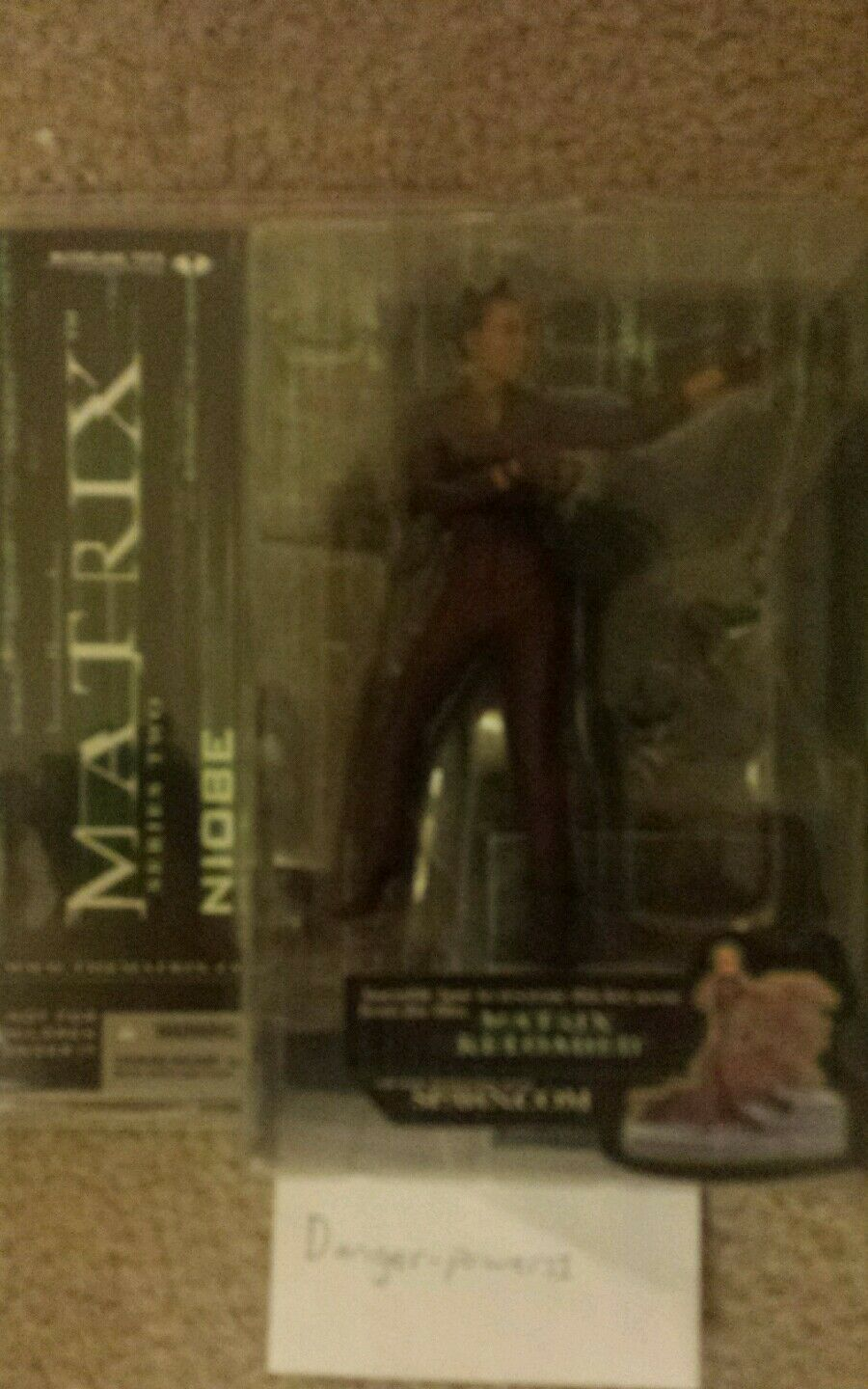 Matrix Reloaded NIOBE Action Figure by McFarlane Toys Series 2