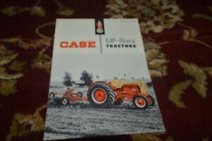 Case 300 400 600 LP Gas Tractor Brochure FCCA
