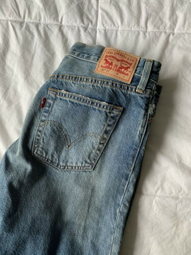 levis 501 made in usa vintage size 28