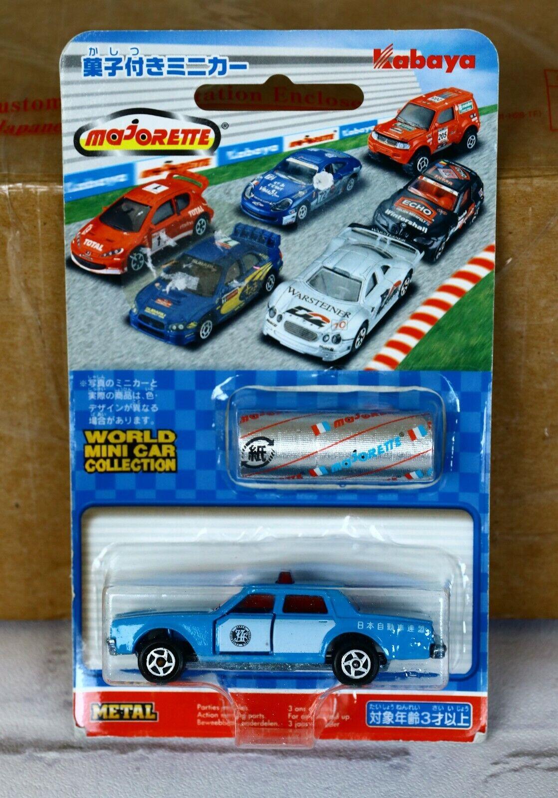 Majorette Kabaya Japon ( From Japan ) Blister Chevrolet Impala JAF N° 240 RARE