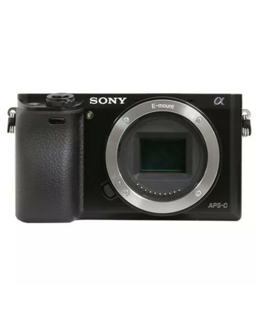 New Sony Alpha a6000 Mirrorless 24.3MP Digital Camera Body Only & Acessories