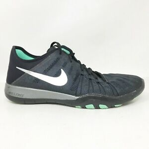 Nike-Womens-TR-6-849805-001-Dark-Grey-Running-Shoes-Lace-Up-Low-Top-Size-7