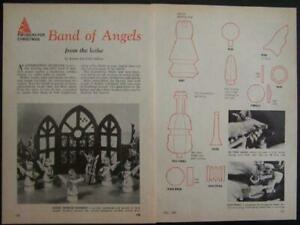 Details About Christmas Angel Xmas Band Howto Plans Ez Wood Turning