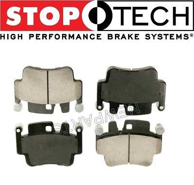 For 911 Carrera S Targa 4S Front /& Rear Disc Brake Pad Set Stoptech Sport