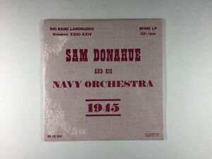 Sam Donahue Amp Navy Orch 1945 2xlp Big Band Landmarks Xxiii