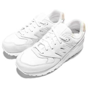 New Balance ML999FB D 999 White Tan Leather Mens Running Trainers ML999FBD