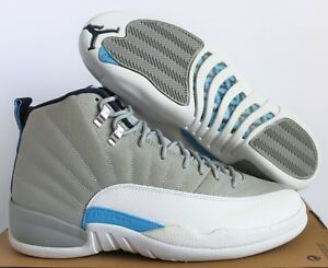 check out 10bcd e8130 Image is loading NIKE-AIR-JORDAN-12-RETRO-WOLF-GREY-UNIVERSITY-