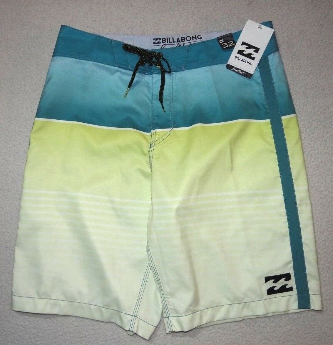 New Billabong Mens All Day Faded Supreme Suede 21  Surf Swim Boardshorts 32