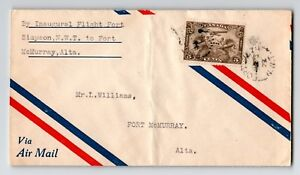 Canada-1929-FFC-Fort-Smith-to-Ft-McMurray-Can-515b-Creased-Z12954