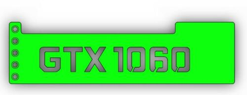 GPU Anti-Sagging Support Bracket//Brace GTX NIVDIA ROG 1080TI GREEN 1060