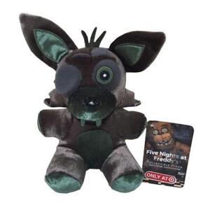 "6"" Rare Funko Five Nights at Freddys Phantom Green Foxy Plush Toy Doll New"