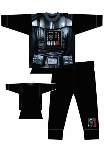 STAR WARS Darth Vader Boys Toddler Pyjamas T-shirt PJ Sleepwear Kids Costume