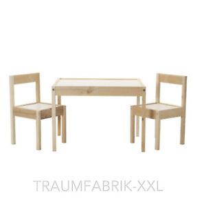 IKEA Latt Table Pour Enfant Avec 2 Chaises